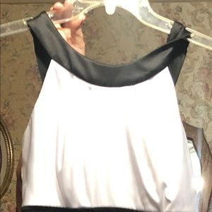 Teeze black and white dress. Like new.